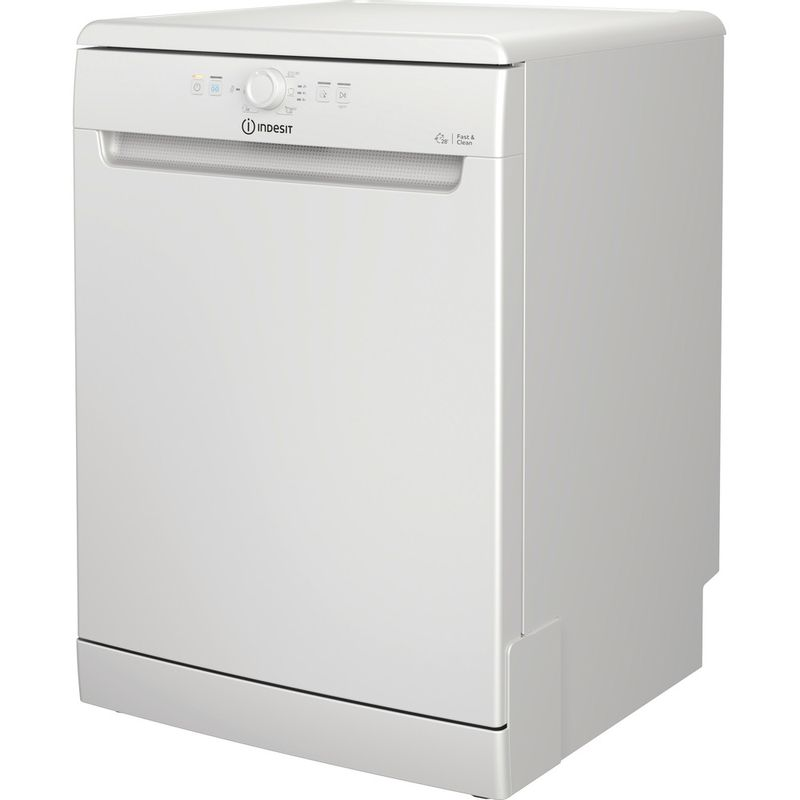 Indesit-Dishwasher-Free-standing-DFE-1B19-UK-Free-standing-F-Perspective