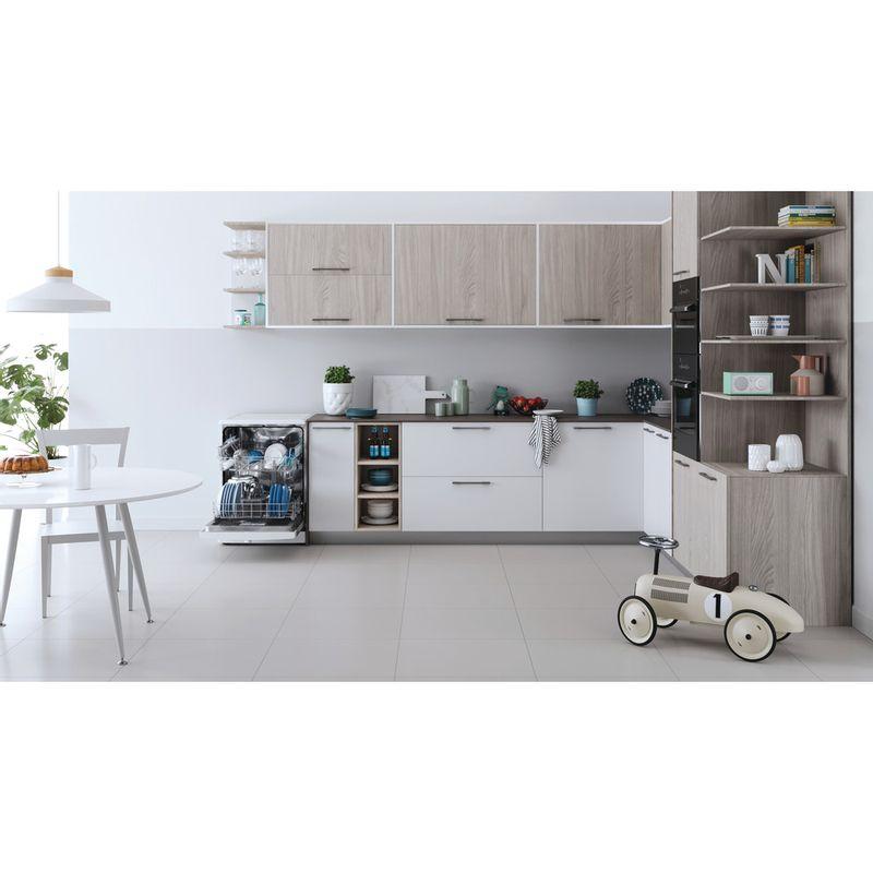 Indesit-Dishwasher-Free-standing-DFE-1B19-UK-Free-standing-F-Lifestyle-frontal-open