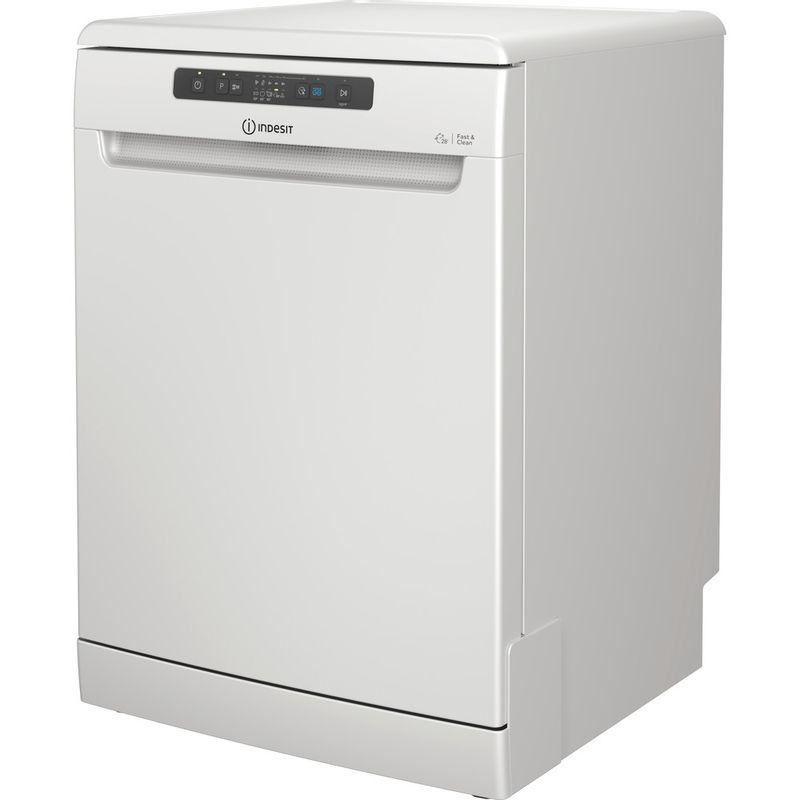 Indesit-Dishwasher-Free-standing-DFC-2B-16-UK-Free-standing-F-Perspective
