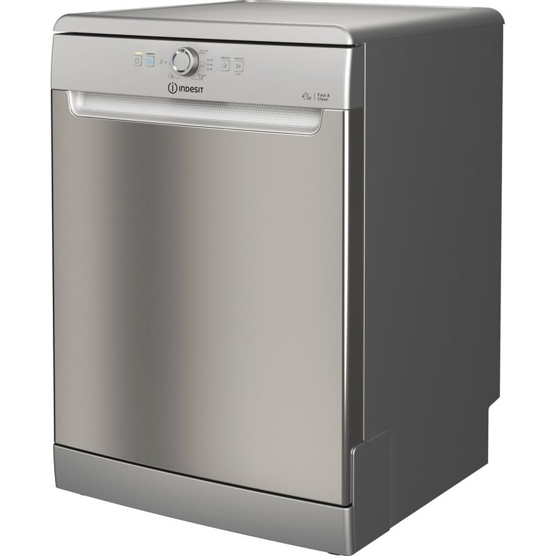 Indesit-Dishwasher-Free-standing-DFE-1B19-X-UK-Free-standing-F-Perspective