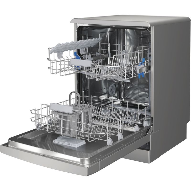 Indesit-Dishwasher-Free-standing-DFC-2B-16-S-UK-Free-standing-F-Perspective-open