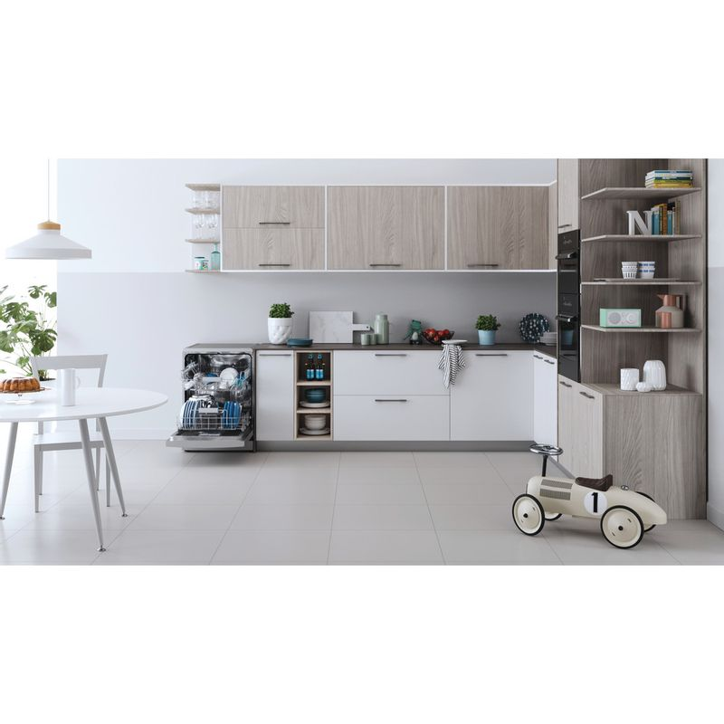 Indesit-Dishwasher-Free-standing-DFC-2B-16-S-UK-Free-standing-F-Lifestyle-frontal-open