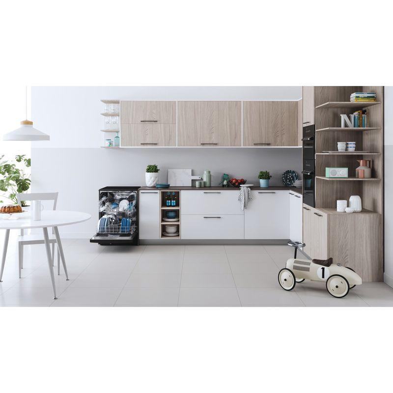 Indesit-Dishwasher-Free-standing-DFE-1B19-B-UK-Free-standing-F-Lifestyle-frontal-open