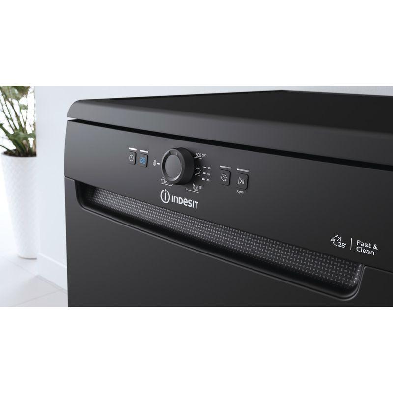 Indesit-Dishwasher-Free-standing-DFE-1B19-B-UK-Free-standing-F-Control-panel
