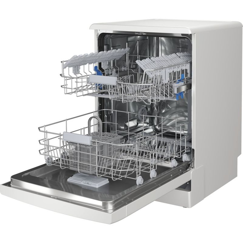 Indesit-Dishwasher-Free-standing-DFC-2C24-UK-Free-standing-E-Perspective-open