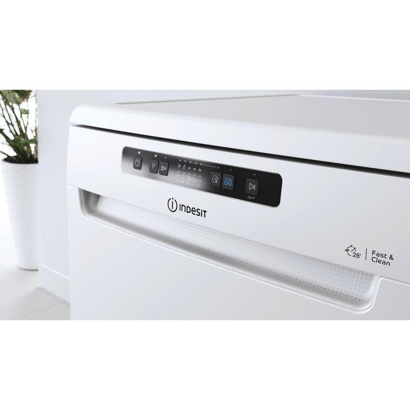Indesit-Dishwasher-Free-standing-DFC-2C24-UK-Free-standing-E-Lifestyle-control-panel