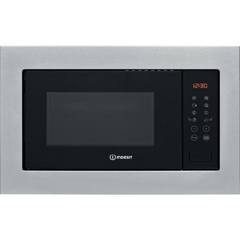 Indesit-Microwave-Built-in-MWI-125-GX-UK-Stainless-steel-Electronic-25-MW-Grill-function-900-Frontal