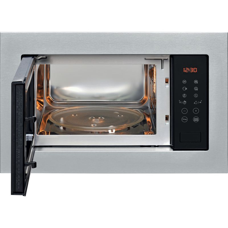 Indesit-Microwave-Built-in-MWI-125-GX-UK-Stainless-steel-Electronic-25-MW-Grill-function-900-Frontal-open