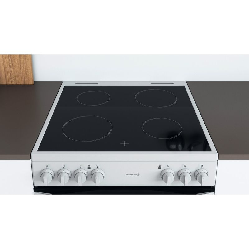 Indesit-Double-Cooker-ID67V9KMW-UK-White-A-Lifestyle-frontal-top-down