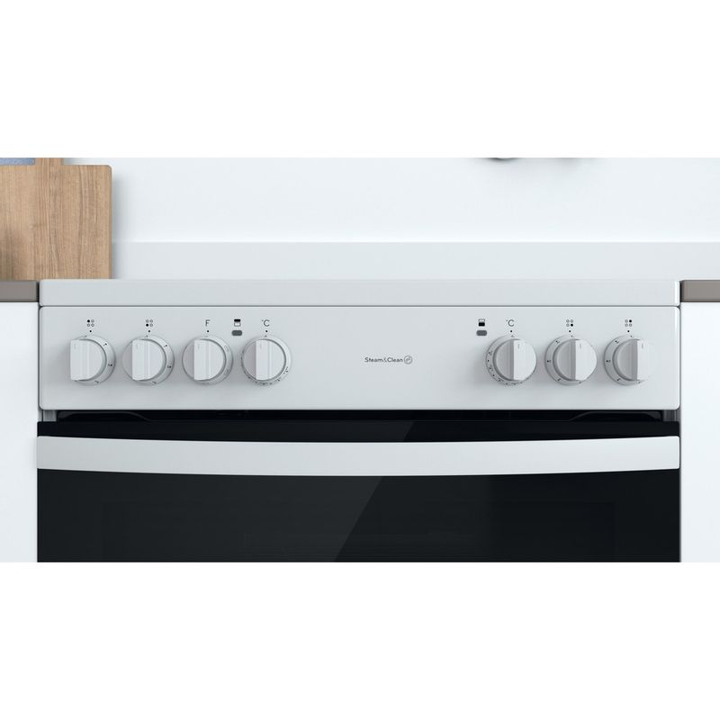 Indesit-Double-Cooker-ID67V9KMW-UK-White-A-Lifestyle-control-panel