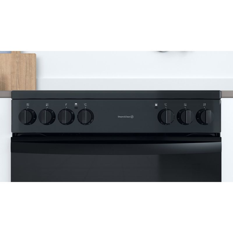 Indesit-Double-Cooker-ID67V9KMB-UK-Black-A-Lifestyle-control-panel