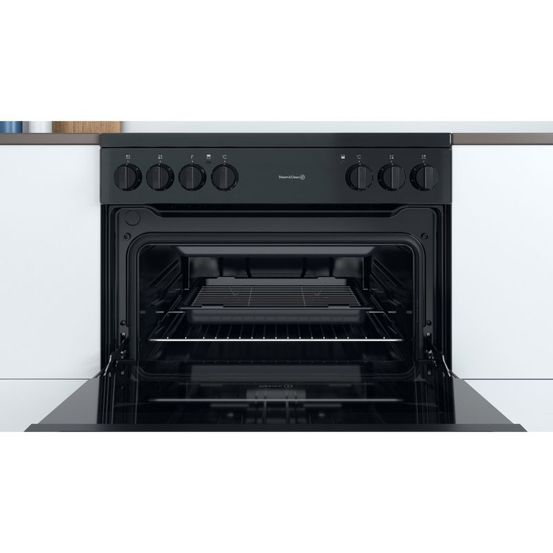 Indesit-Double-Cooker-ID67V9KMB-UK-Black-A-Cavity
