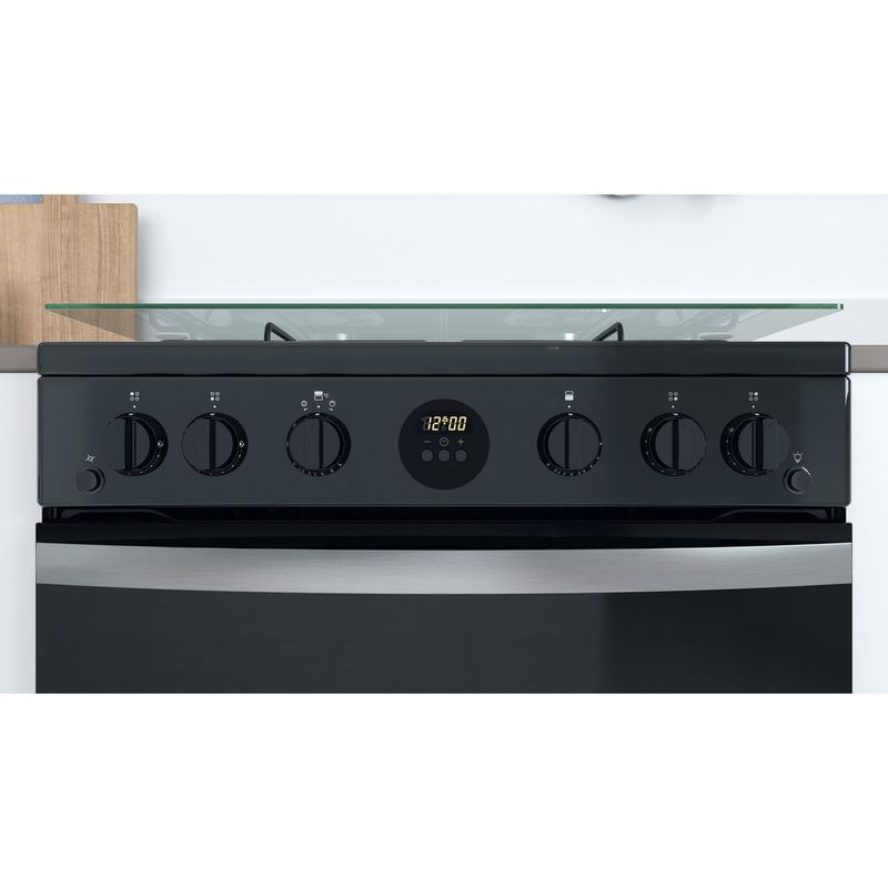 Indesit-Double-Cooker-ID67G0MCB-UK-Black-A--Lifestyle-control-panel