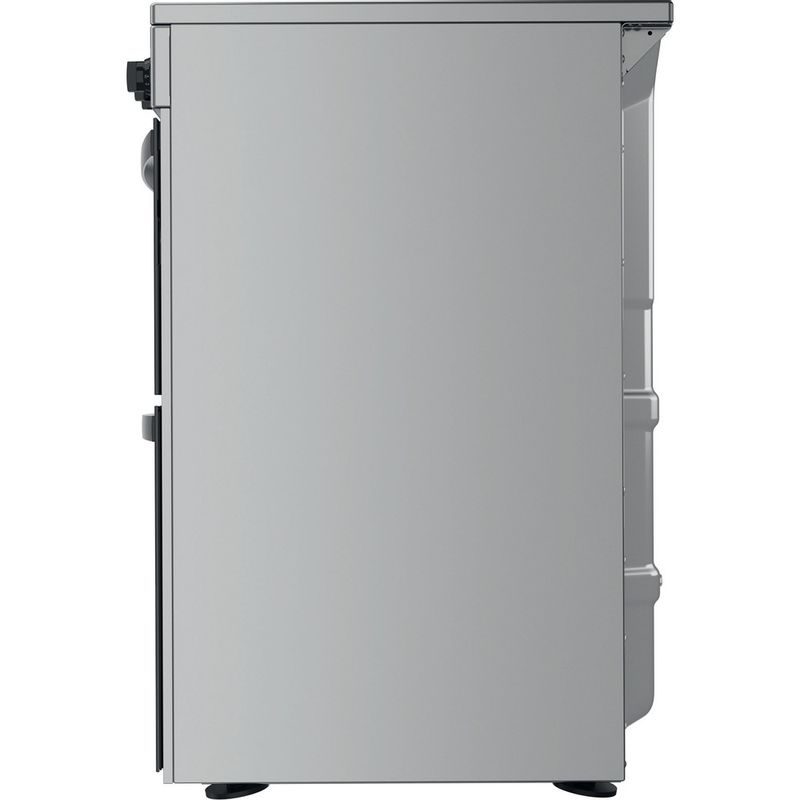Indesit-Double-Cooker-ID67V9HCX-UK-Inox-A-Back---Lateral