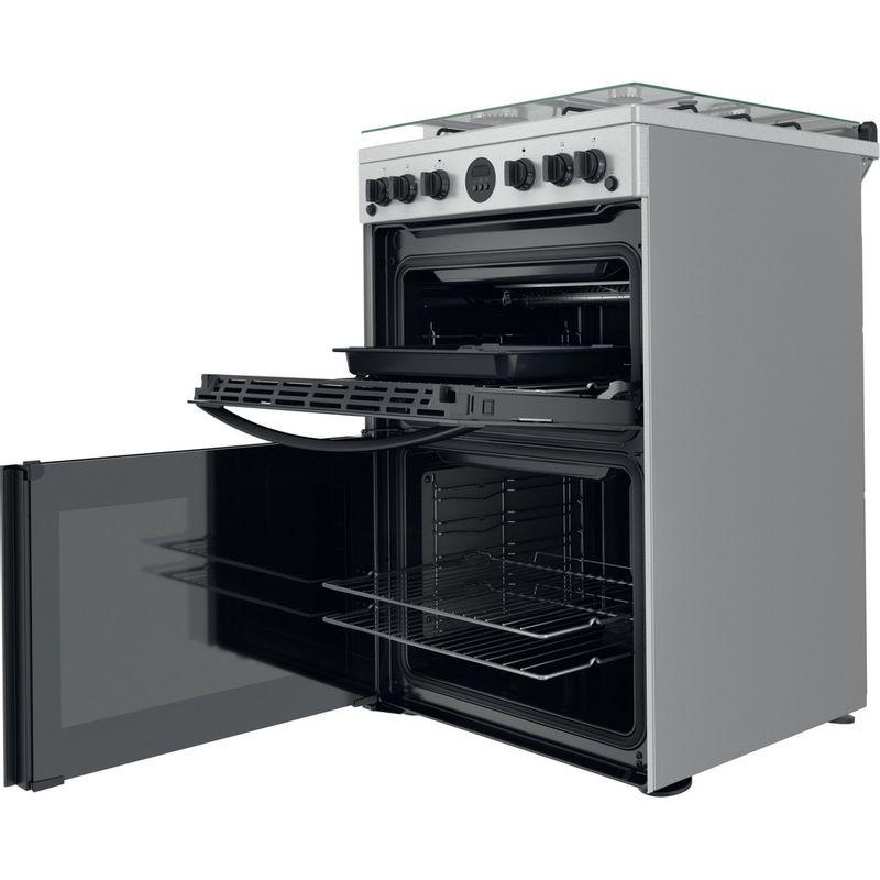 Indesit-Double-Cooker-ID67G0MCX-UK-Inox-A--Perspective-open