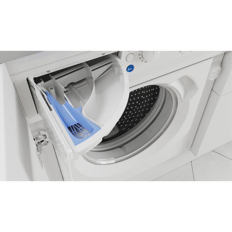 Indesit-Washer-dryer-Built-in-BI-WDIL-861284-UK-White-Front-loader-Drawer