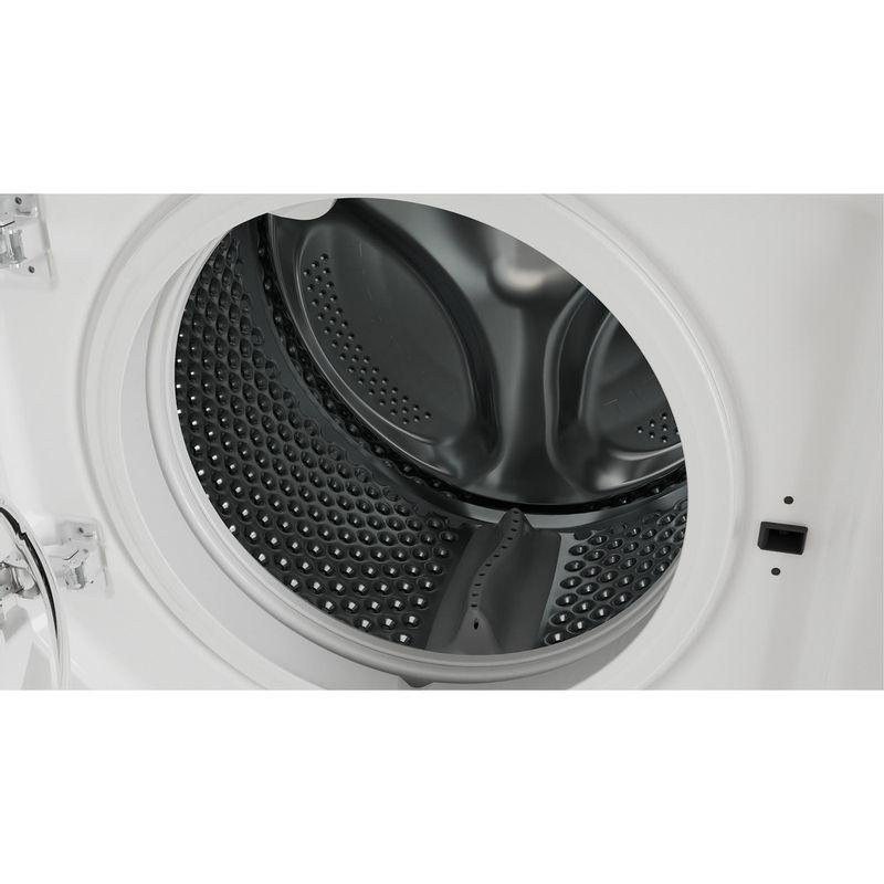 Indesit-Washer-dryer-Built-in-BI-WDIL-861284-UK-White-Front-loader-Drum