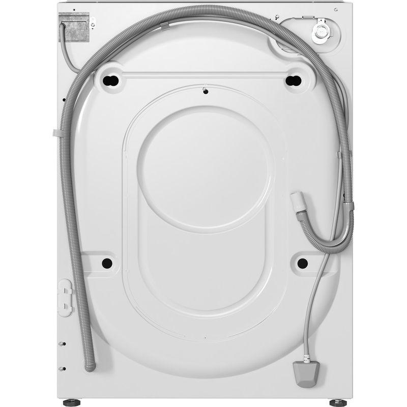 Indesit-Washer-dryer-Built-in-BI-WDIL-861284-UK-White-Front-loader-Back---Lateral