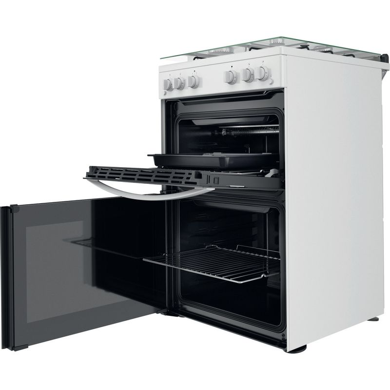 Indesit-Double-Cooker-ID67G0MCW-UK-White-A--Perspective-open