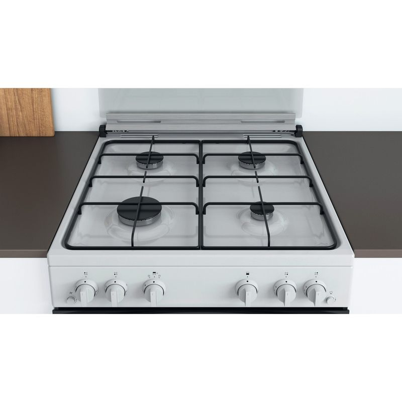 Indesit-Double-Cooker-ID67G0MCW-UK-White-A--Lifestyle-frontal-top-down