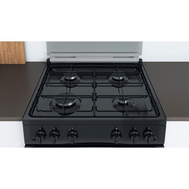 Indesit-Double-Cooker-ID67G0MMB-UK-Black-A--Lifestyle-frontal-top-down