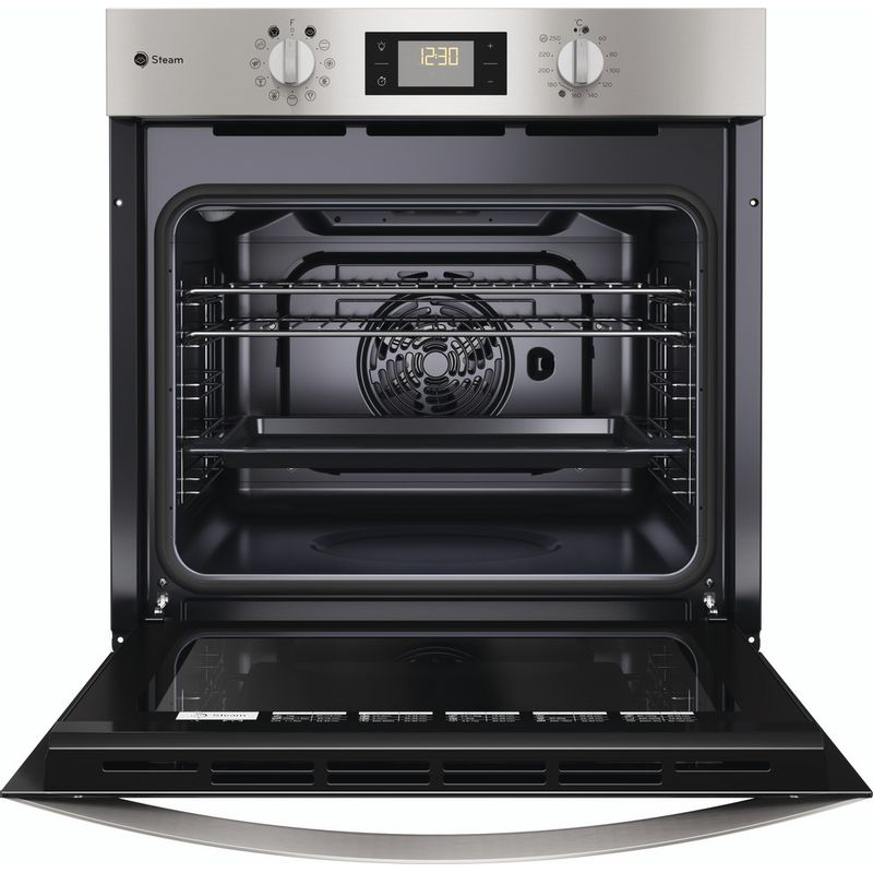 Indesit-OVEN-Built-in-KFWS-3844-H-IX-UK-Electric-A--Frontal-open