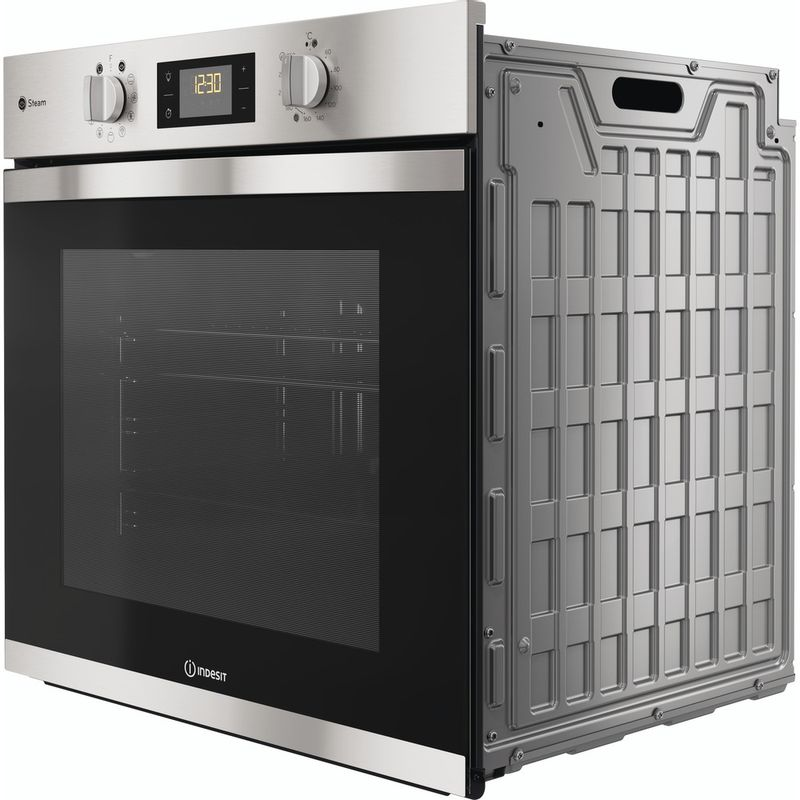 Indesit-OVEN-Built-in-KFWS-3844-H-IX-UK-Electric-A--Perspective