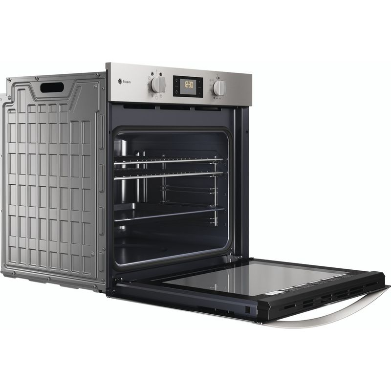 Indesit-OVEN-Built-in-KFWS-3844-H-IX-UK-Electric-A--Perspective-open