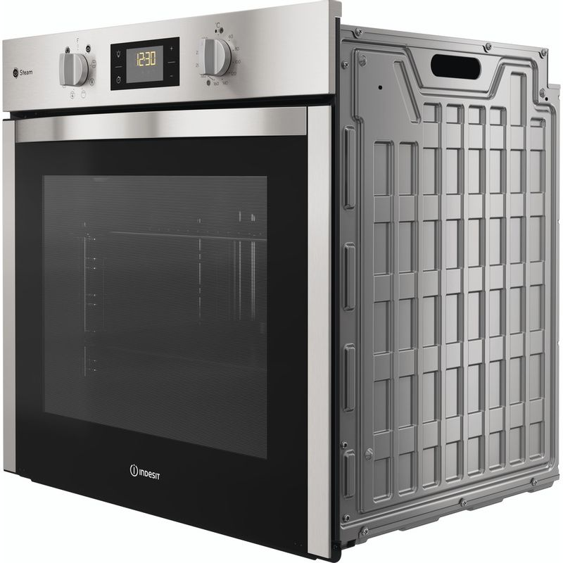 Indesit-OVEN-Built-in-DFWS-5544-C-IX-UK-Electric-A-Perspective