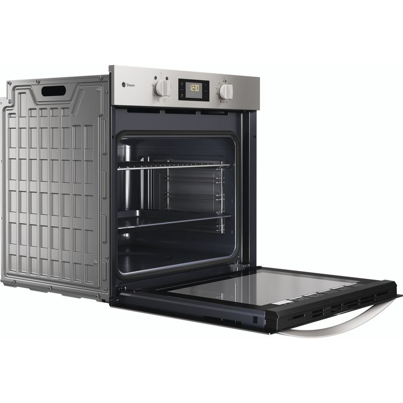 Indesit-OVEN-Built-in-DFWS-5544-C-IX-UK-Electric-A-Perspective-open