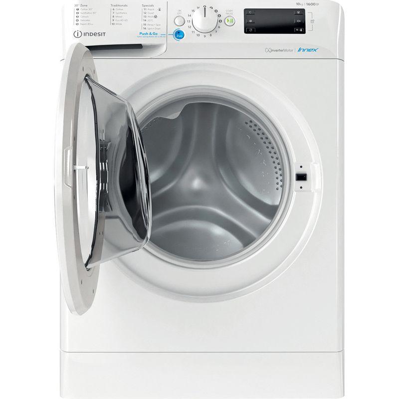 Indesit-Washing-machine-Free-standing-BWE-101683X-W-UK-N-White-Front-loader-D-Frontal-open