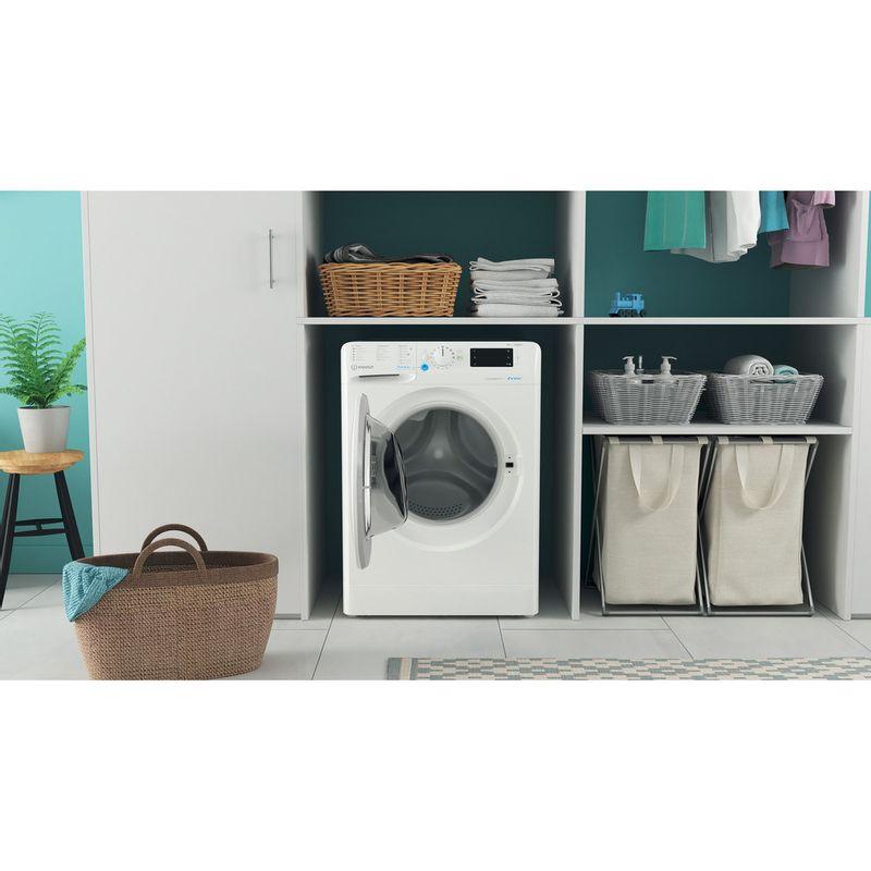 Indesit-Washing-machine-Free-standing-BWE-101683X-W-UK-N-White-Front-loader-D-Lifestyle-frontal-open