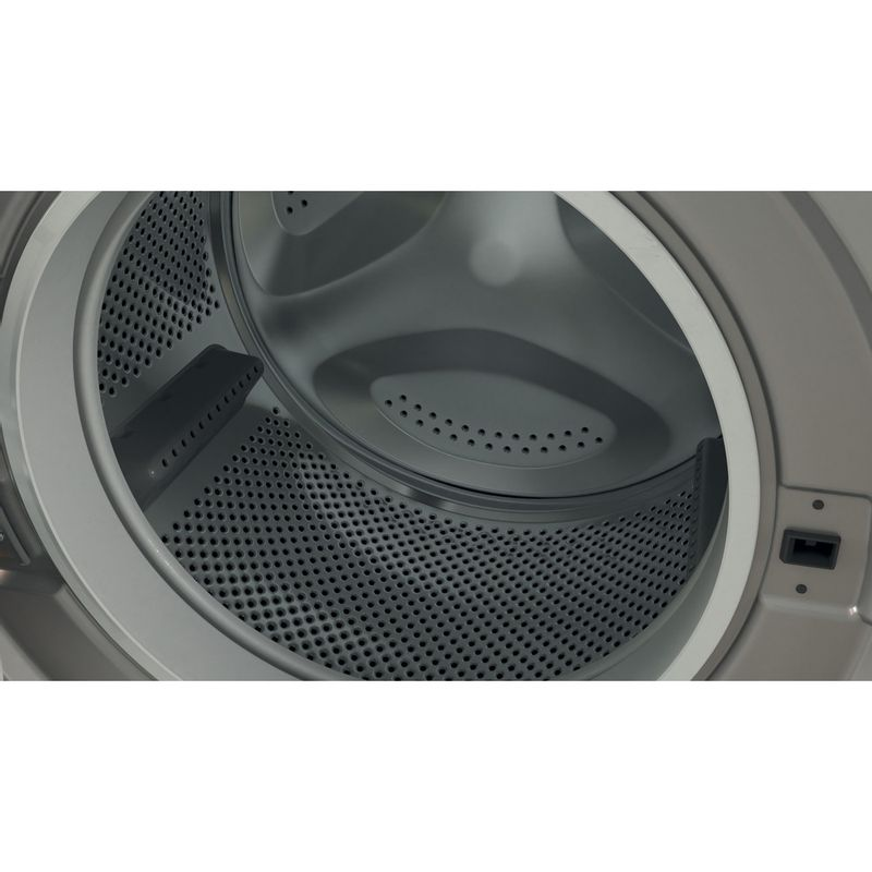 Indesit-Washing-machine-Free-standing-BWA-81483X-S-UK-N-Silver-Front-loader-D-Drum