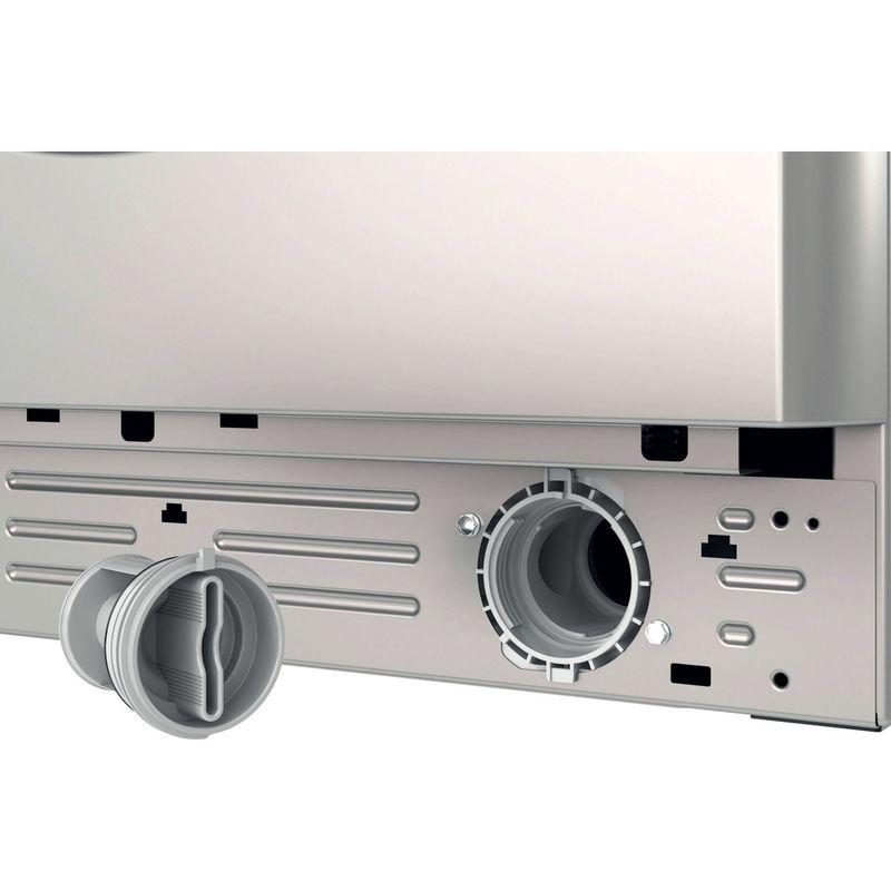 Indesit-Washing-machine-Free-standing-BWA-81483X-S-UK-N-Silver-Front-loader-D-Filter