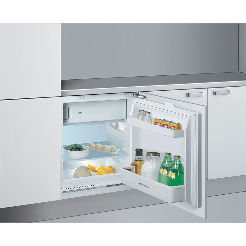 Indesit-Refrigerator-Built-in-IF-A1.UK-1-Steel-Perspective-open