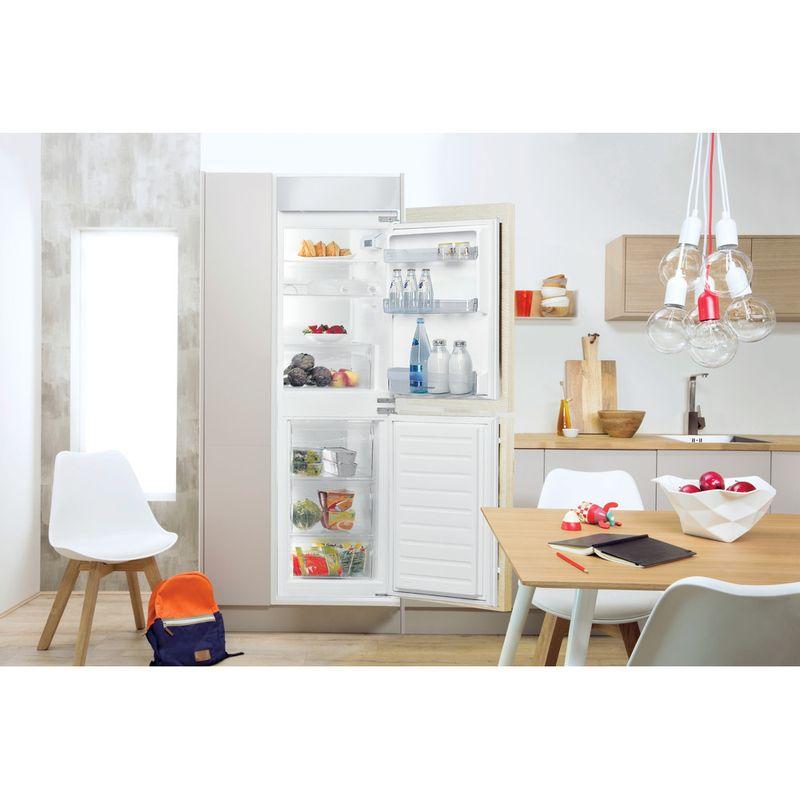 Indesit-Fridge-Freezer-Built-in-E-IB-15050-A1-D.UK-1-White-2-doors-Lifestyle-frontal-open