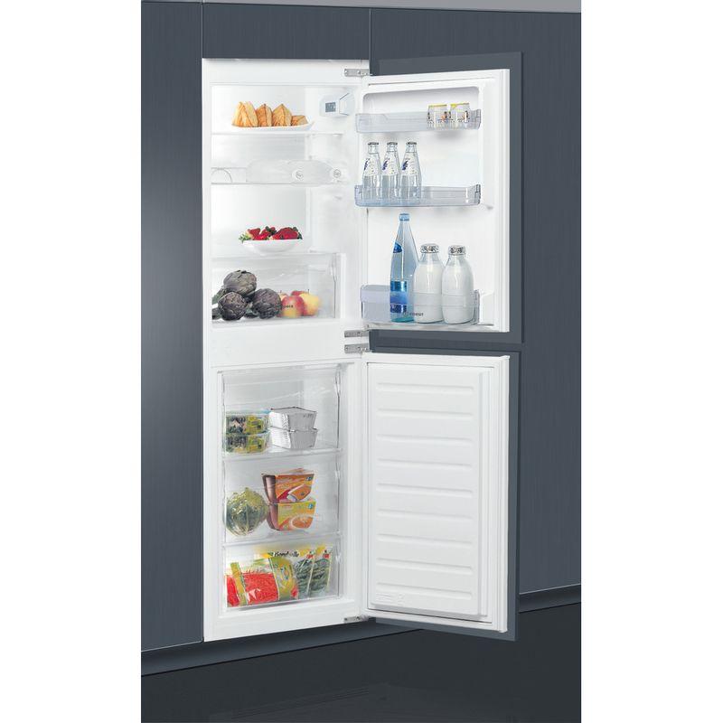 Indesit-Fridge-Freezer-Built-in-E-IB-15050-A1-D.UK-1-White-2-doors-Lifestyle-perspective-open