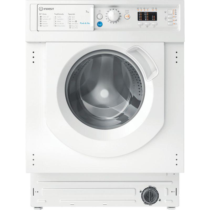 Indesit-Washing-machine-Built-in-BI-WMIL-71252-UK-N-White-Front-loader-E-Frontal