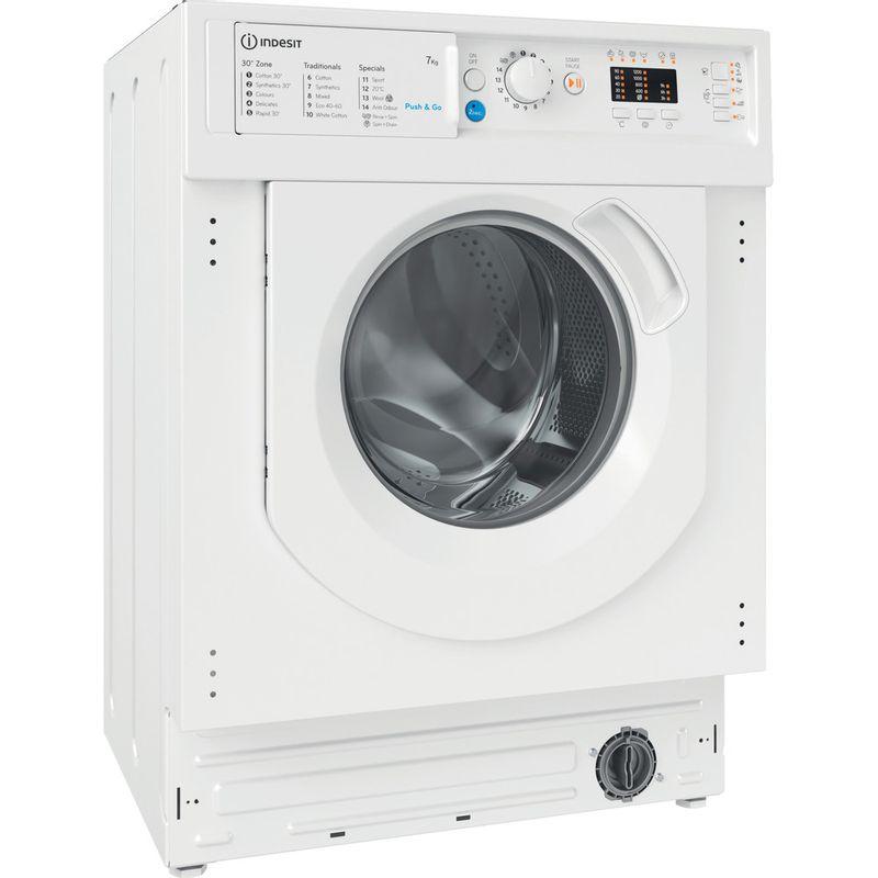 Indesit-Washing-machine-Built-in-BI-WMIL-71252-UK-N-White-Front-loader-E-Perspective