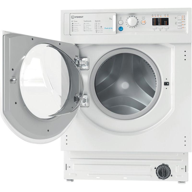 Indesit-Washing-machine-Built-in-BI-WMIL-71252-UK-N-White-Front-loader-E-Frontal-open