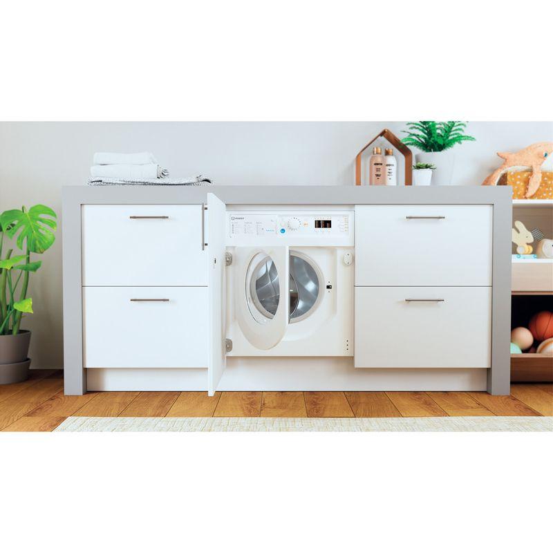 Indesit-Washing-machine-Built-in-BI-WMIL-71252-UK-N-White-Front-loader-E-Lifestyle-frontal-open