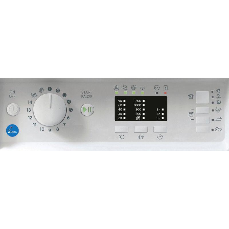 Indesit-Washing-machine-Built-in-BI-WMIL-71252-UK-N-White-Front-loader-E-Control-panel