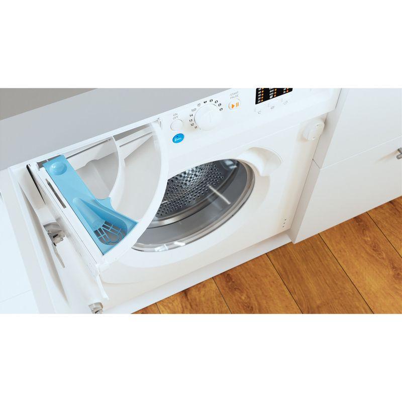 Indesit-Washing-machine-Built-in-BI-WMIL-71252-UK-N-White-Front-loader-E-Drawer
