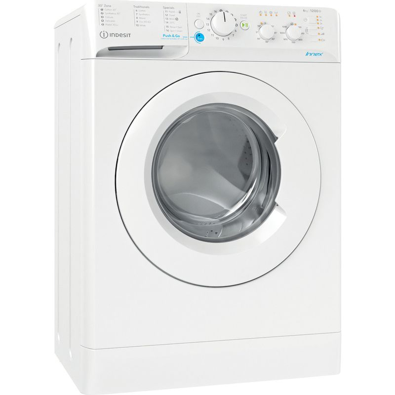 Indesit-Washing-machine-Free-standing-BWSC-61251-XW-UK-N-White-Front-loader-F-Perspective