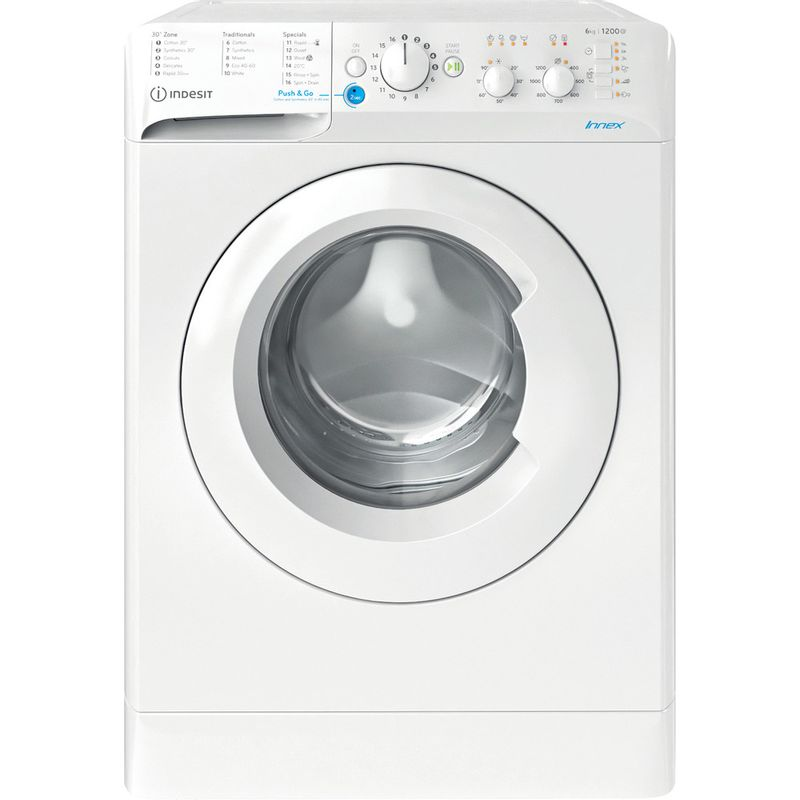 Indesit-Washing-machine-Free-standing-BWSC-61251-XW-UK-N-White-Front-loader-F-Frontal