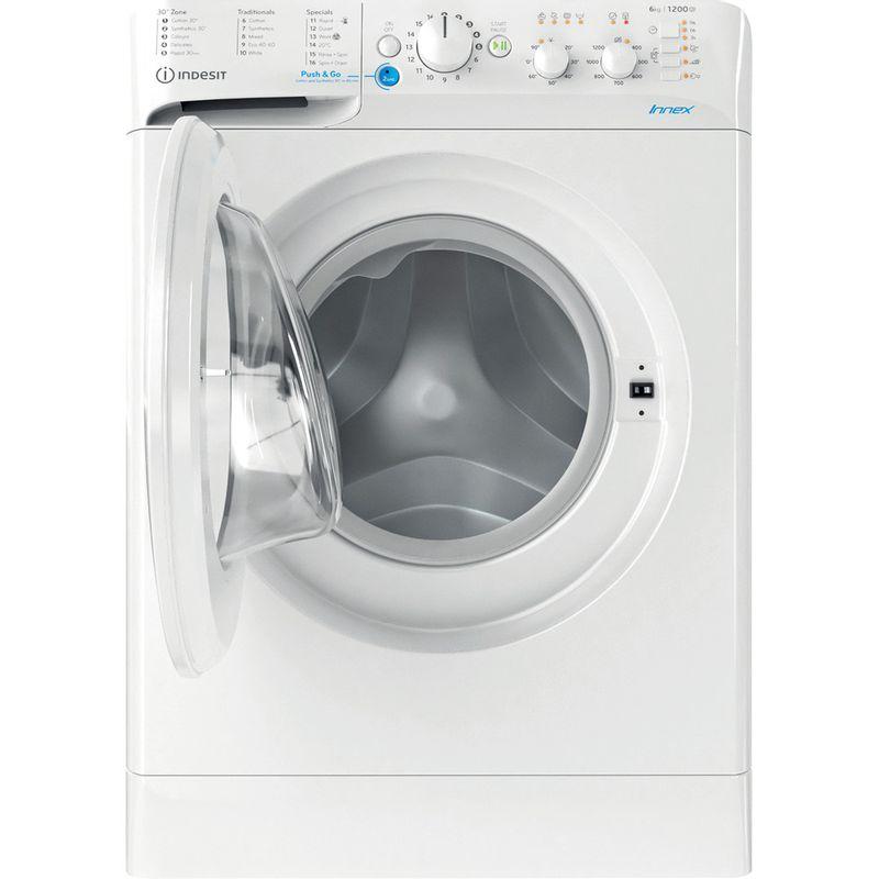 Indesit-Washing-machine-Free-standing-BWSC-61251-XW-UK-N-White-Front-loader-F-Frontal-open