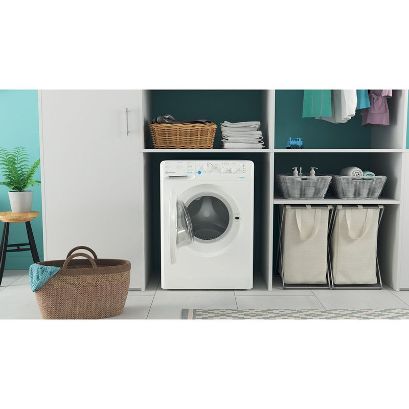 Indesit-Washing-machine-Free-standing-BWSC-61251-XW-UK-N-White-Front-loader-F-Lifestyle-frontal-open