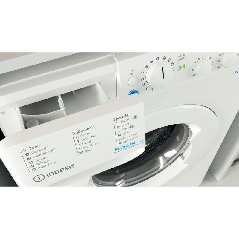 Indesit-Washing-machine-Free-standing-BWSC-61251-XW-UK-N-White-Front-loader-F-Drawer