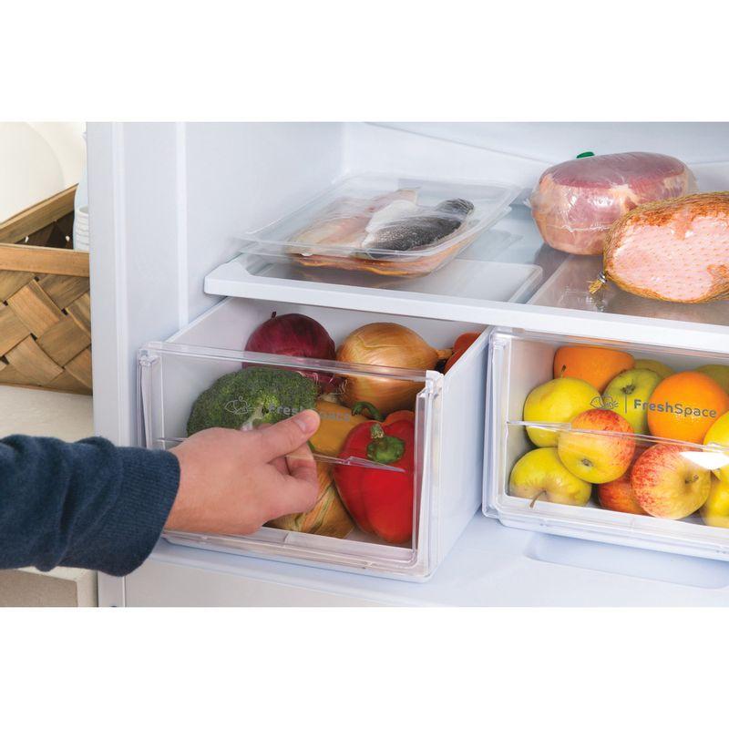Indesit-Fridge-Freezer-Free-standing-IBD-5517-W-UK-1-White-2-doors-Drawer