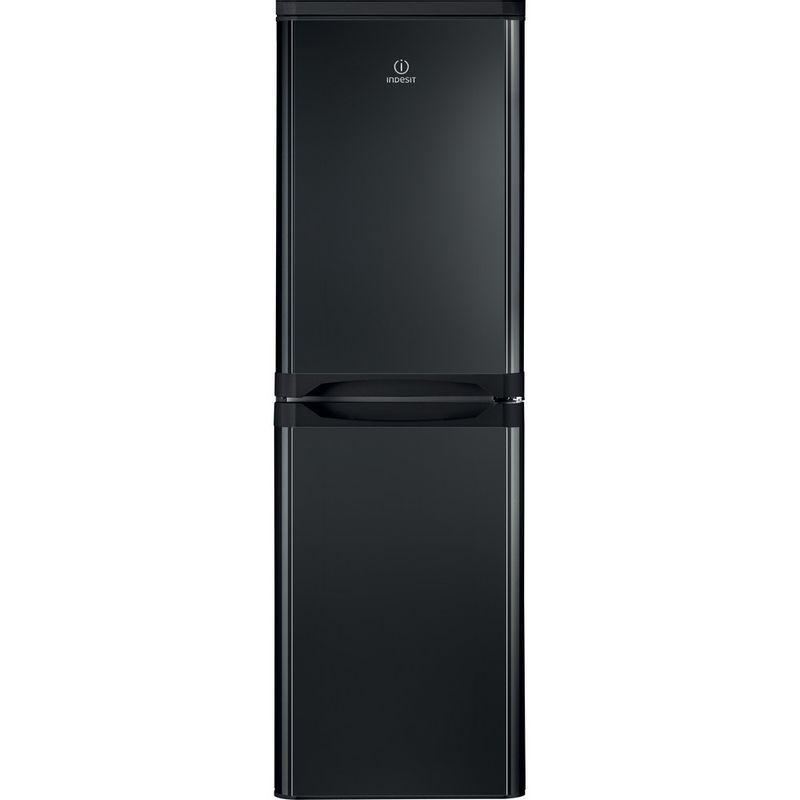 Indesit-Fridge-Freezer-Free-standing-IBD-5517-B-UK-1-Black-2-doors-Frontal